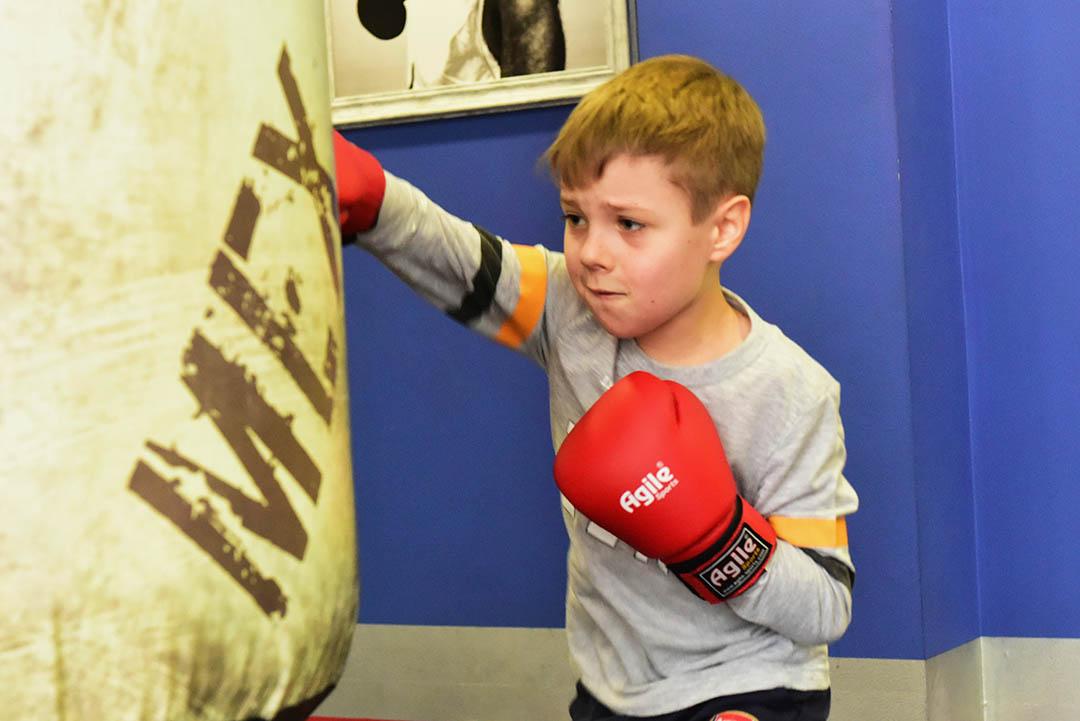 Детская секция бокса