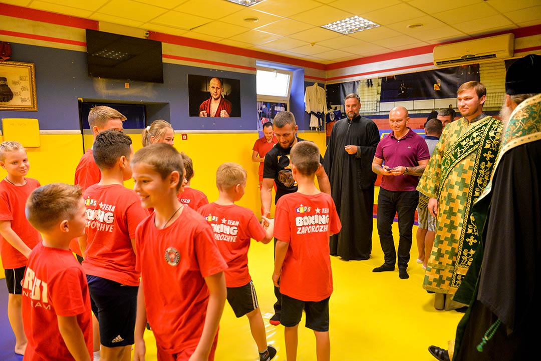 Василий Ломаченко в Berkut Boxing Club