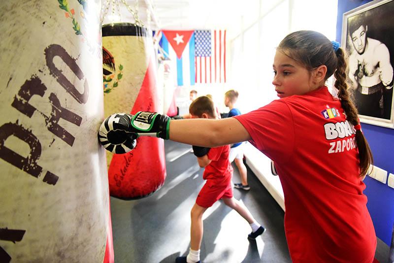 секция бокса для детей Запорожье