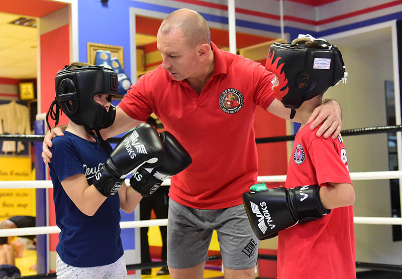 детская секция по боксу в Запорожье